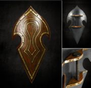Elven Battle Shield